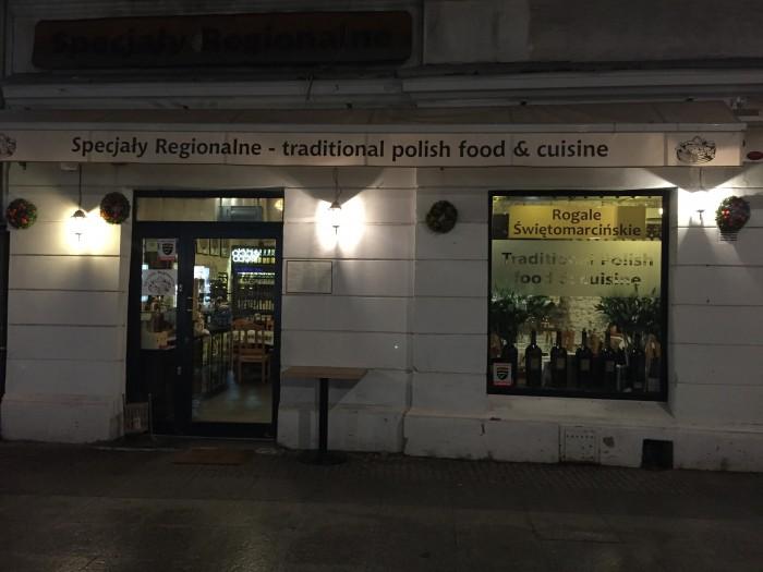 restaurante Specjaly Regionalne
