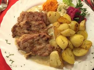 Chuletas de cerdo - Restaurante Maxim