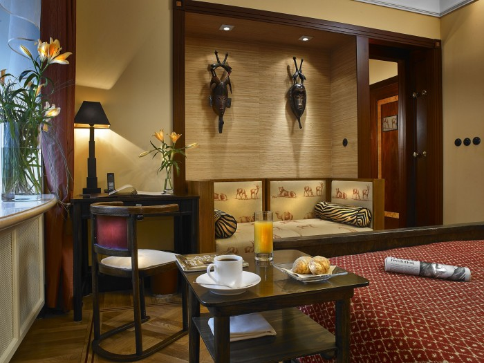 Executive Double Room_African style