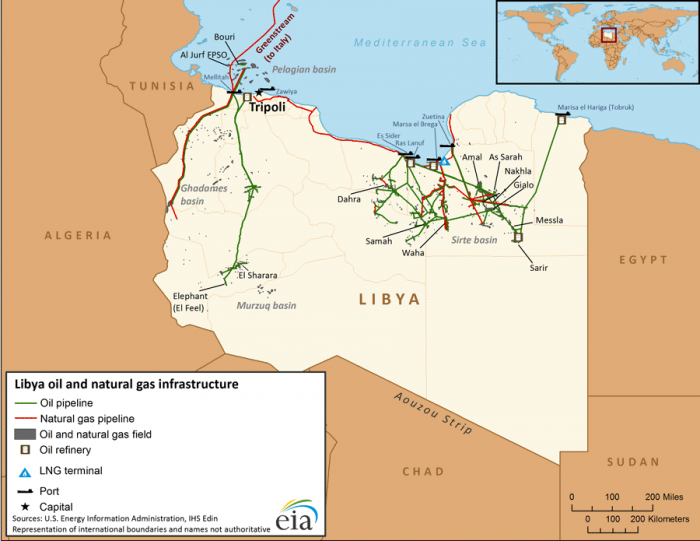 Libya_infrastructure_map